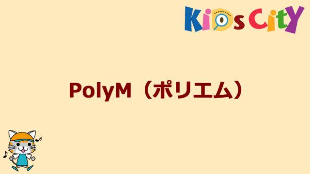 グッド・トイ紹介 PolyM(ポリエム)
