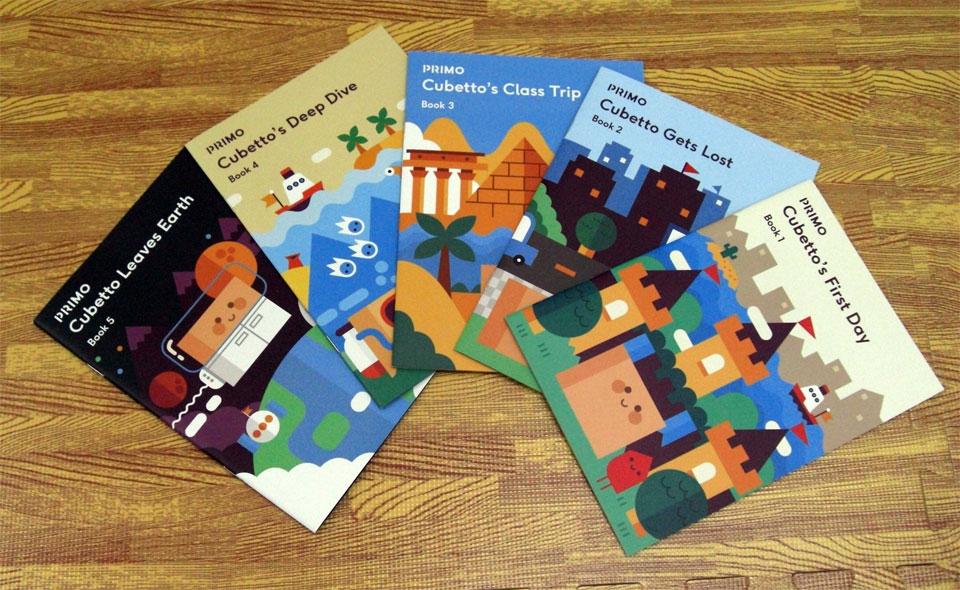 キッズシティおすすめ プログラミングおもちゃ キュベットストーリーブック