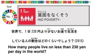 キッズシティのSDGs,SDGsクエスチョンカード,SDGsクイズ