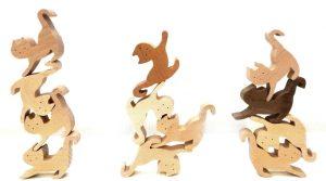 グッド・トイ 創造力を養う組み木ネコ